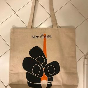 The New Yorker Magazine Canvas Tote Bag